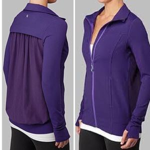 "Lululemon ""Tadasana"" purple Jacket"